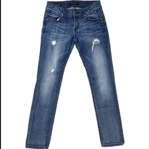 Vigoss Studio The Thompson Roll Skinny Jeans